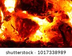 Small photo of hellish heat from smoldering charcoal in the boiler, the hot air and heated metal
