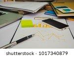 business document financial... | Shutterstock . vector #1017340879
