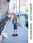 new york  usa   september 10 ... | Shutterstock . vector #1017343699