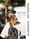 new york  usa   september 10 ... | Shutterstock . vector #1017345451