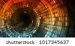 digital marketing and social... | Shutterstock . vector #1017345637