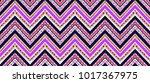 geometric folklore ornament.... | Shutterstock .eps vector #1017367975