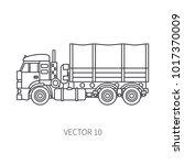 line flat vector icon... | Shutterstock .eps vector #1017370009