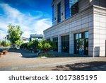 modern business building   Shutterstock . vector #1017385195