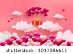 illustrations of love and... | Shutterstock .eps vector #1017386611