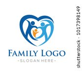 family and family love  health... | Shutterstock .eps vector #1017398149