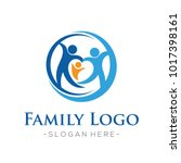 family and family love  health... | Shutterstock .eps vector #1017398161