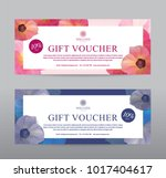 gift voucher for spa hotel... | Shutterstock .eps vector #1017404617