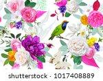 boho seamless pattern | Shutterstock .eps vector #1017408889