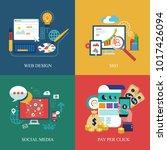 information technologies... | Shutterstock .eps vector #1017426094