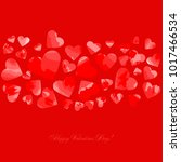 happy valentines day. greeting...   Shutterstock .eps vector #1017466534