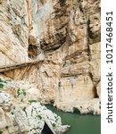 wide angle view of 'el caminito ...   Shutterstock . vector #1017468451