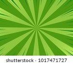 comic book halftone effect... | Shutterstock .eps vector #1017471727