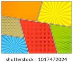 comic book halftone effect...   Shutterstock .eps vector #1017472024