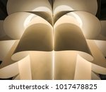 paper with reflective light ... | Shutterstock . vector #1017478825