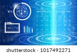abstract background technology... | Shutterstock .eps vector #1017492271