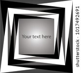 vector black and white abstract ...   Shutterstock .eps vector #1017492691
