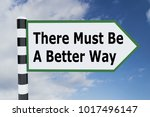 3d illustration of there must... | Shutterstock . vector #1017496147