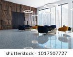 modern office waiting room... | Shutterstock . vector #1017507727