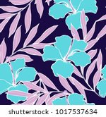 abstract elegance pattern with... | Shutterstock .eps vector #1017537634