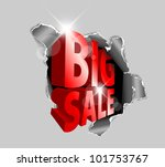 vector big sale discount... | Shutterstock .eps vector #101753767