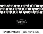 happy valentine's day   concept ... | Shutterstock .eps vector #1017541231