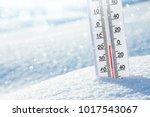 wintertime. winter background... | Shutterstock . vector #1017543067