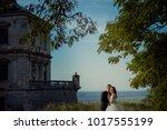sensitive outdoor portrait of... | Shutterstock . vector #1017555199