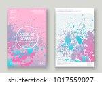 pastel pink cyan explosion... | Shutterstock .eps vector #1017559027
