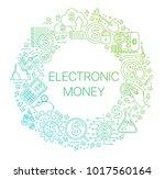 modern linear concept of...   Shutterstock .eps vector #1017560164
