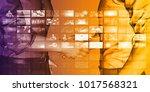 marketing tools for online...   Shutterstock . vector #1017568321