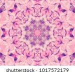 Seamless Kaleidoscope Pink...