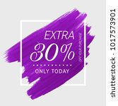 Extra Sale 30  Off Sign Over...
