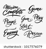 rescue and mission complete...   Shutterstock .eps vector #1017576079