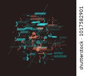 trendy abstract background.... | Shutterstock .eps vector #1017582901