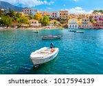 assos cephalonia greece | Shutterstock . vector #1017594139