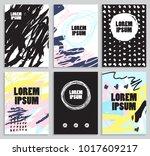 modern abstract composition....   Shutterstock .eps vector #1017609217