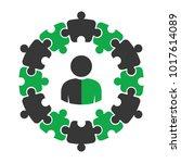 skills vector icon | Shutterstock .eps vector #1017614089