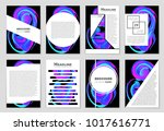 abstract vector layout... | Shutterstock .eps vector #1017616771