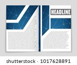 abstract vector layout... | Shutterstock .eps vector #1017628891
