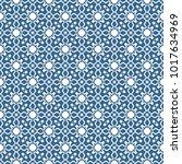 seamless vintage pattern.... | Shutterstock .eps vector #1017634969