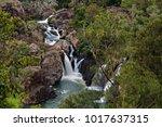 little millstream falls near... | Shutterstock . vector #1017637315