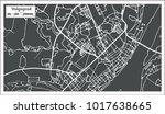 volgograd russia city map in... | Shutterstock .eps vector #1017638665