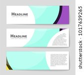 abstract vector layout... | Shutterstock .eps vector #1017639265