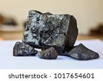 close up of manganese ore | Shutterstock . vector #1017654601