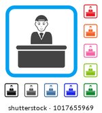 enjoy official guy vector... | Shutterstock .eps vector #1017655969