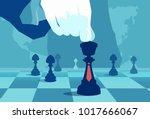 vector concept illustration of... | Shutterstock .eps vector #1017666067