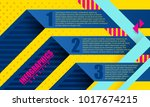 infographics concept background ... | Shutterstock .eps vector #1017674215