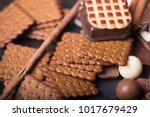 three different types of... | Shutterstock . vector #1017679429