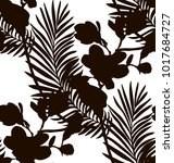 vector black shape decorative... | Shutterstock .eps vector #1017684727